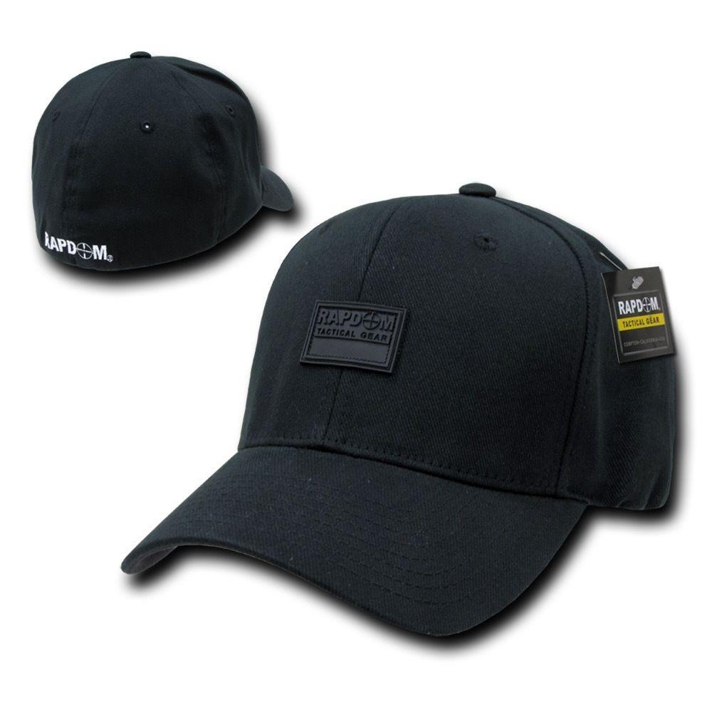 Rapdom Tactical Flex Caps Hats Pre Curved Bill 6 Panel Military