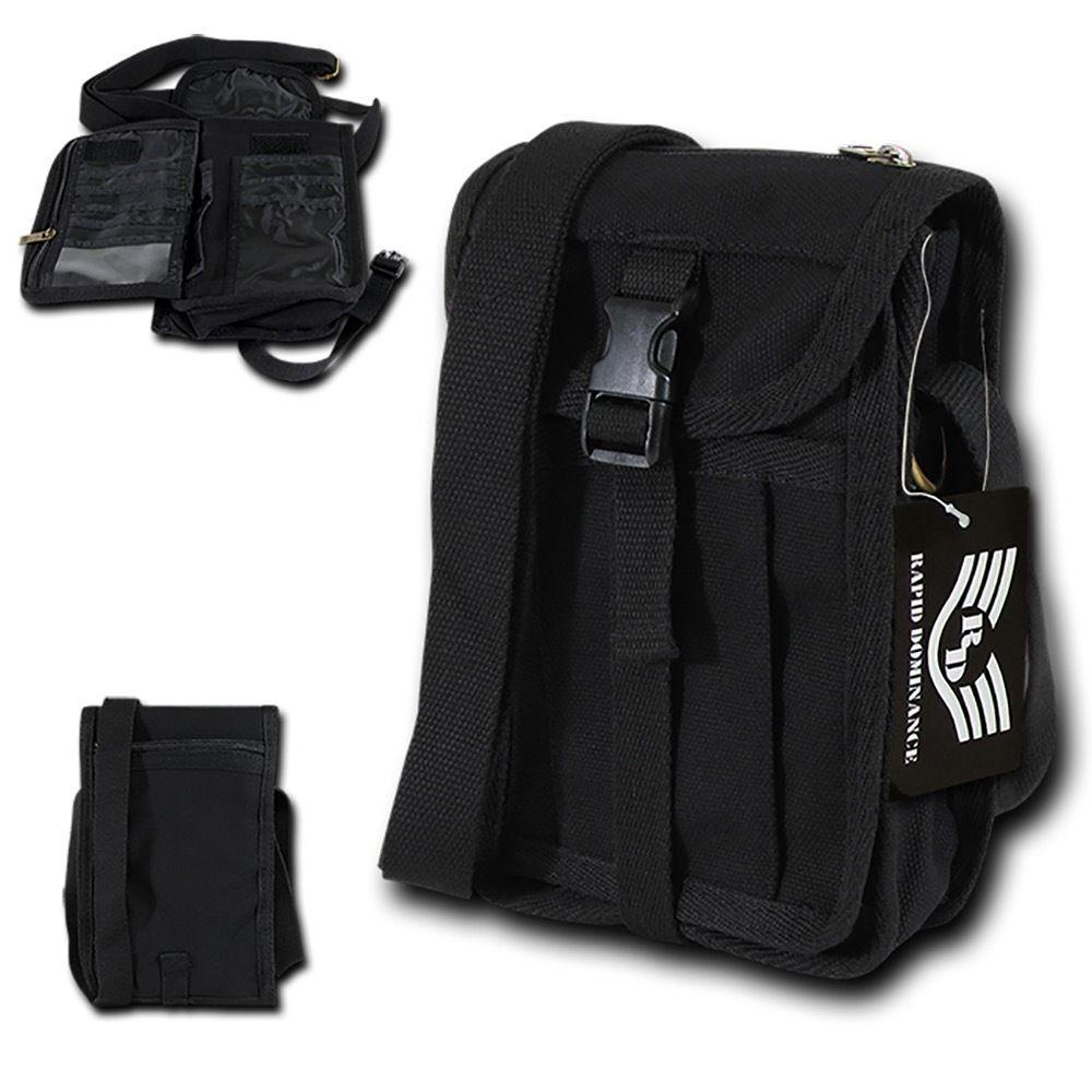 Rapid Dominance Cotton Canvas Travel Portfolio Bags Backpack Luggage