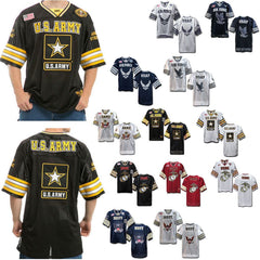 Rapid Dominance Military Football Jersey Navy Air Force Army Marines T Shirts