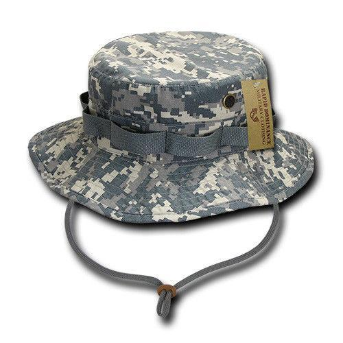 Rapid Dominance Ripstop Boonies Bucket Military Fishing Hunting Cotton Hats Caps