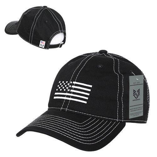 Rapid Dominance USA Flag Embroidered Patriotic Relaxed Baseball Caps Hats Unisex