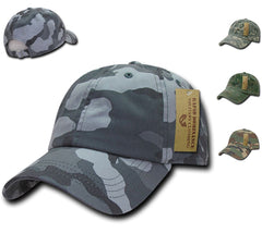 Rapid Dominance Relaxed Cotton Military Vintage Washed Polo Camo Camouflage Baseball Hats Caps!