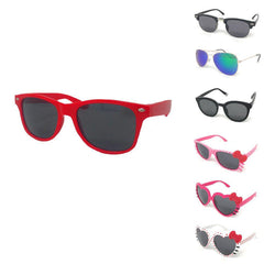 Boys Girls Kids Toddlers Children Sunglasses UV Protection Top Styles w/ Pouch