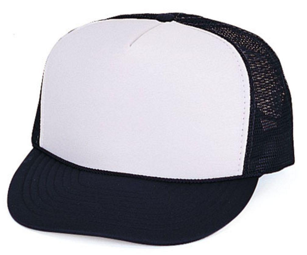 1 Dozen Foam Mesh 5 Panel Baseball Caps Hats Youth Boys Girls Kids Wholesale