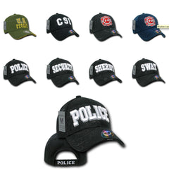 Rapid Dominance Shadow Embroidered Law Enforcement US USA Baseball Caps Hats