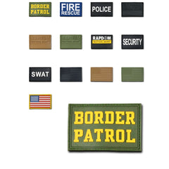 Tactical Operator Contracto 3X2 Rubber Patch Patches Rapdom