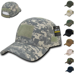 Tactical Operator Military Army Law Enforcement Low Crown Cotton Patch Caps Hats