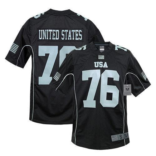Rapid Dominance Sports Practice Graphic USA Football Jersey