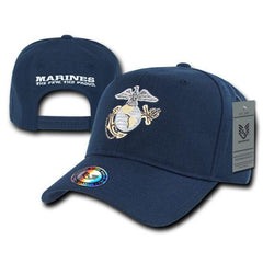 Rapid Dominance USA Military Marines The Few The Proud Metallic Baseball Hat Caps