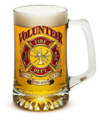 Volunteer Firefighter - Set Of 2 - Large Tankards 25Oz Drinkware
