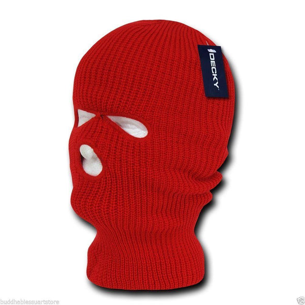 5564b9470fa Decky Warm Winter Balaclava 3 Hole Face Masks Beanies Ski Motorcycle B –  Serve The Flag