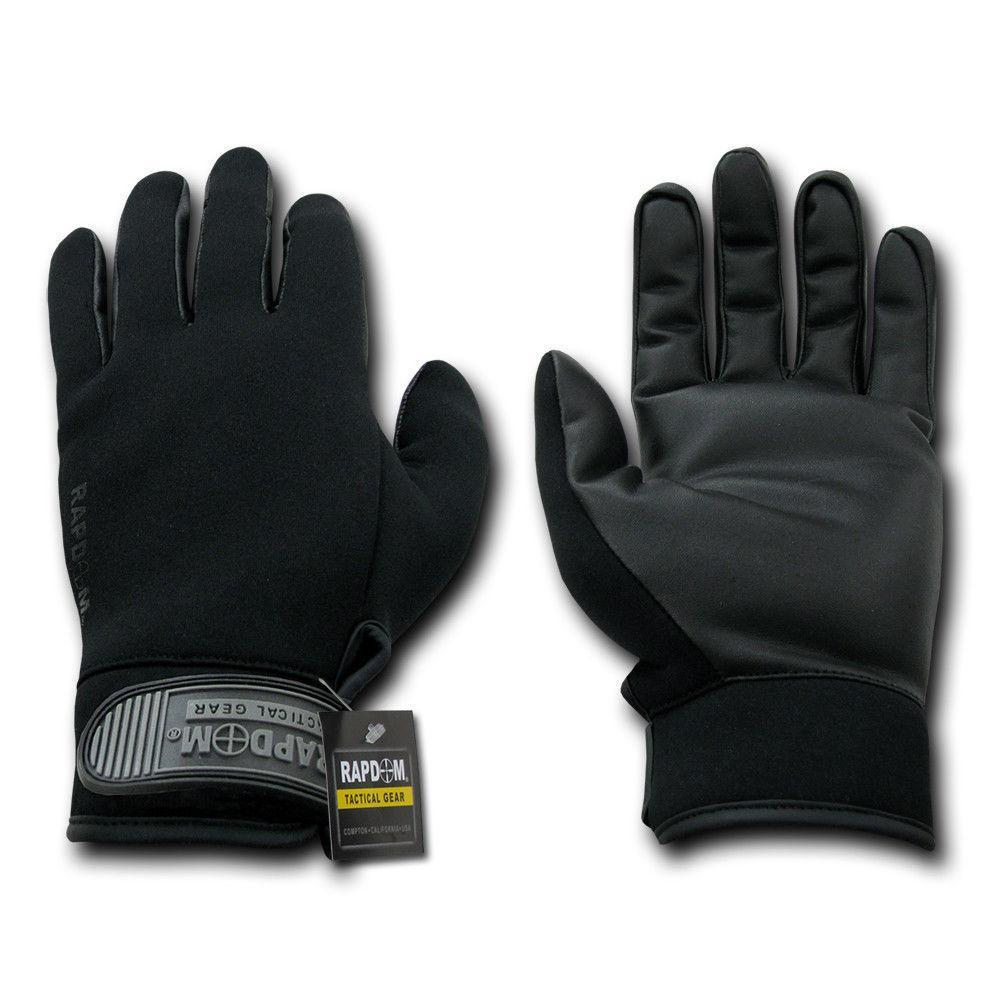 Winter Neoprene Outdoor Work Patrol Military Moisture Protection Gloves