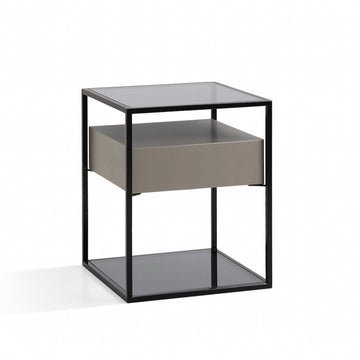 Alfred Lacquer Side Table