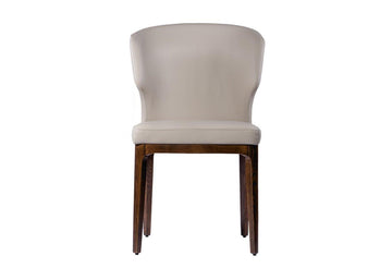 Alina Leather Dining Chair - Conceptus Collection