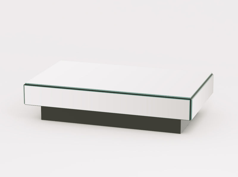 Reflex Small Mirrored Rectangle Coffee Table