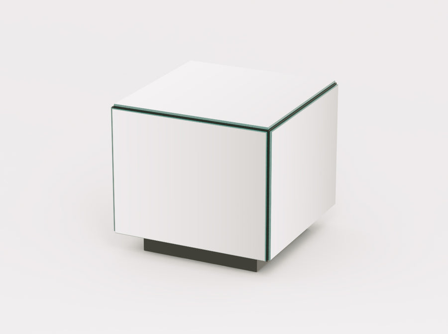 Reflex Mirrored Side Table