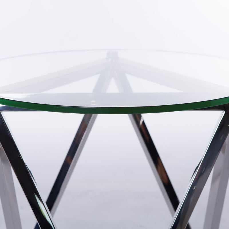 Peak Round Side Table