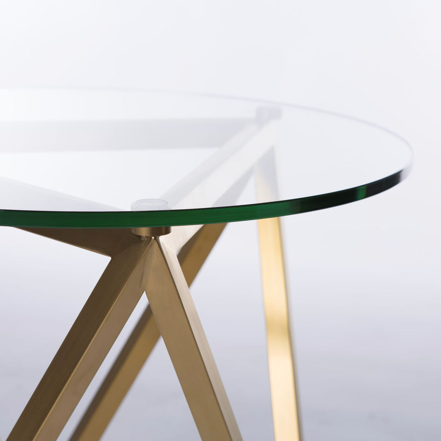 Peak Round Side Table - Conceptus Collection