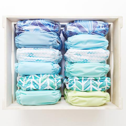 AQUA WAVES CLOTH NAPPY