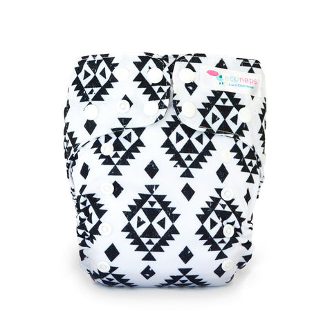 AZTEC BLACK CLOTH NAPPY
