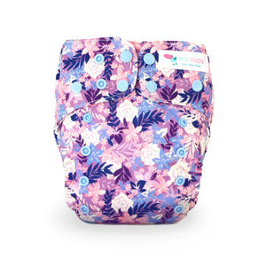 SUMMER BLOOMS CLOTH NAPPY