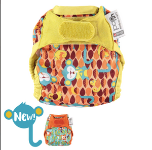 Close Pop-in Newborn Single Printed Nappy NEW