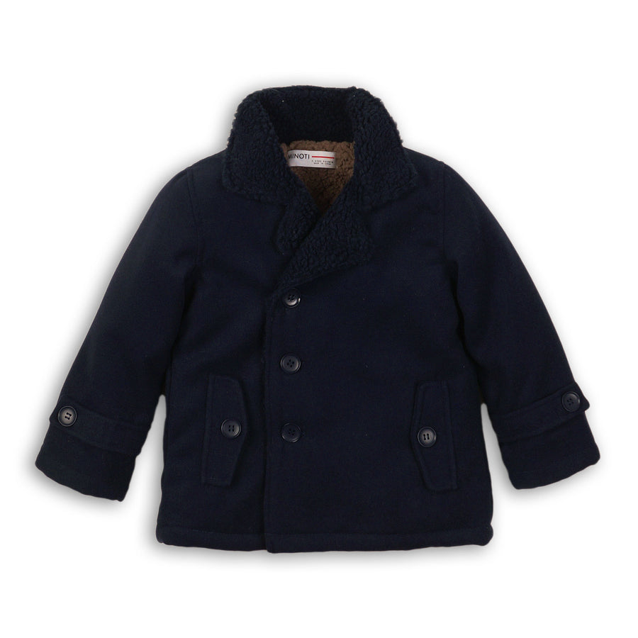 Woolen Double Breasted Jacket