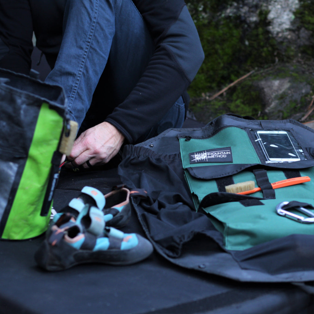 THE BOULDER CADDY | GEAR ORGANIZER