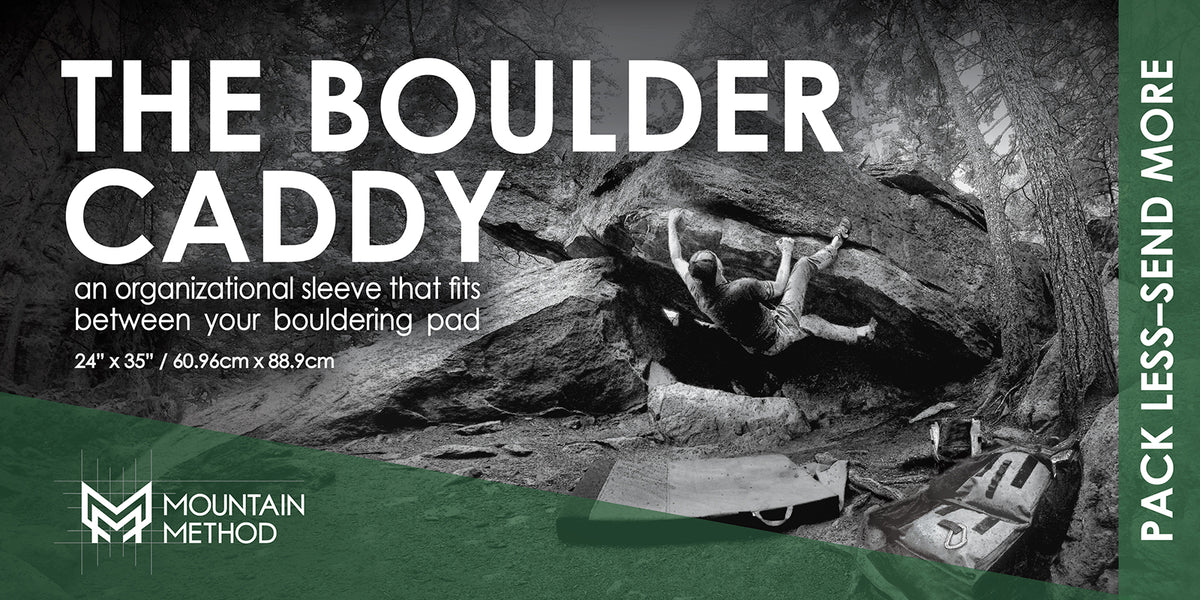 Mountain Method | Boulder Caddy Description