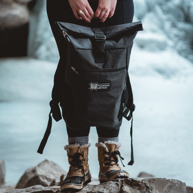 Mountain Method - Rolltop backpack