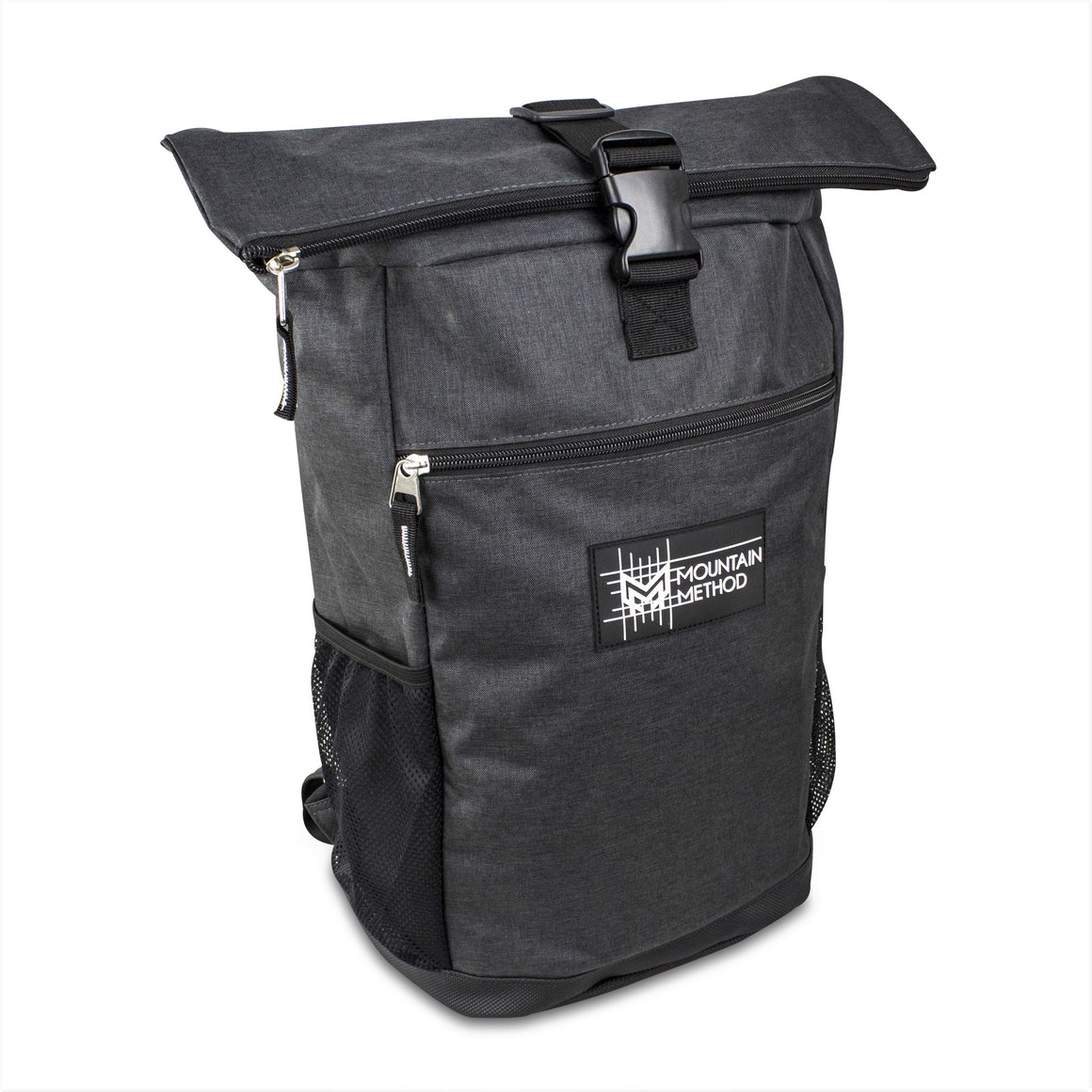Roll Top backpack - Charcoal