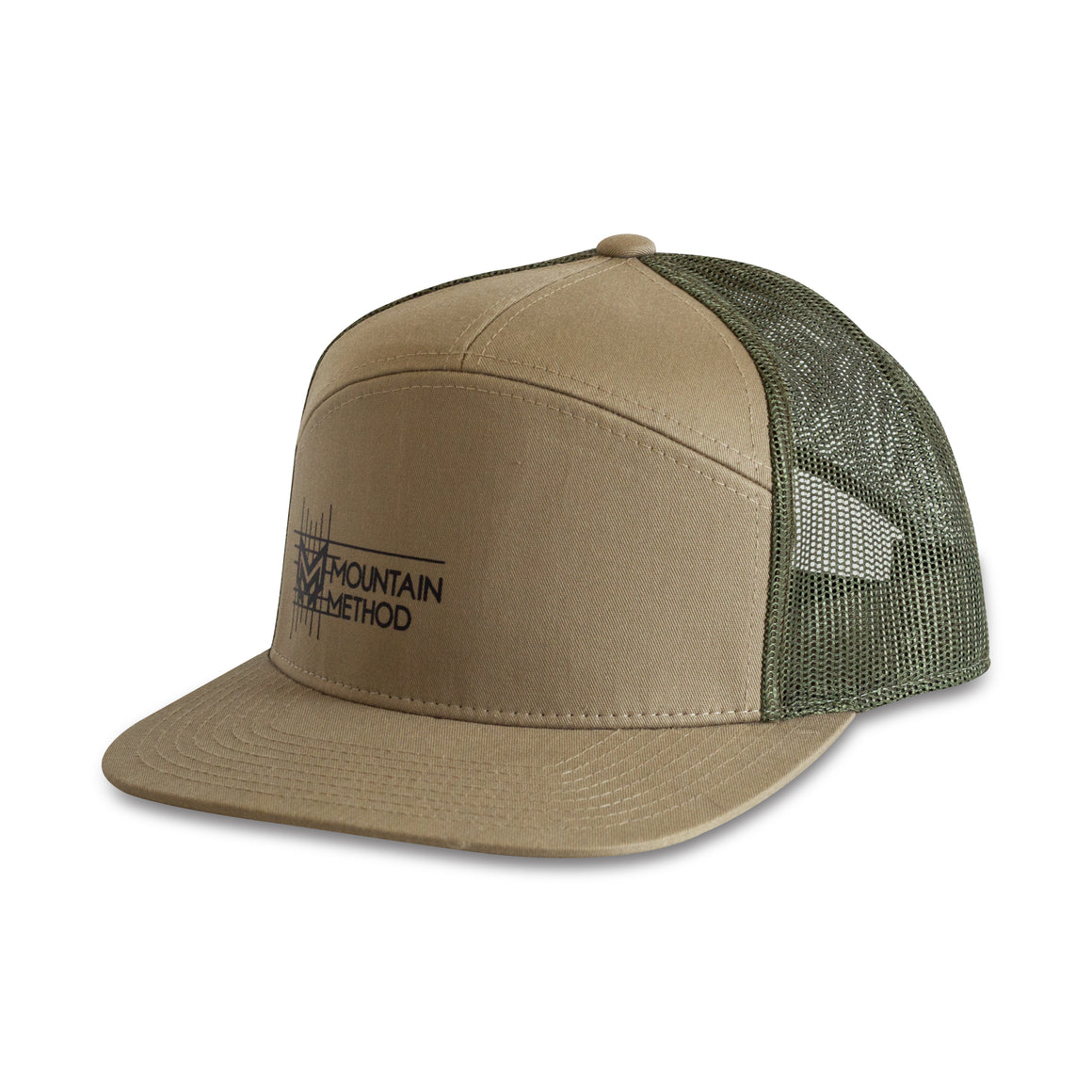 Mountain Method - Johnnie Creek 7 Panel Hat - Green - Clothing