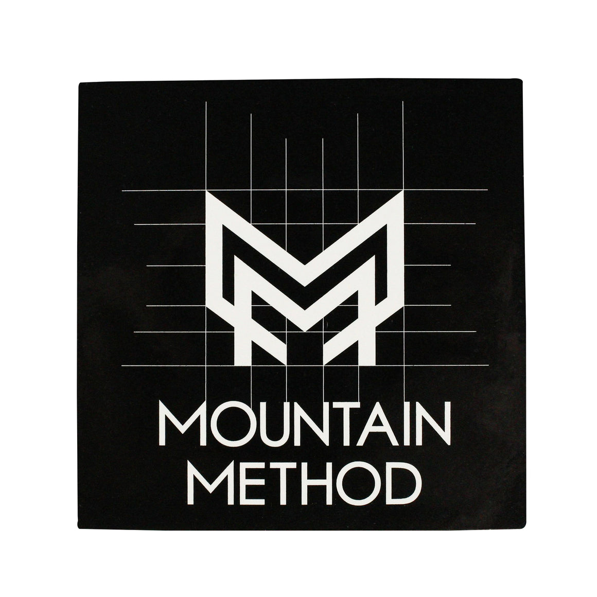 Mountain Method | Gridline Sticker 3x3 | Accessories