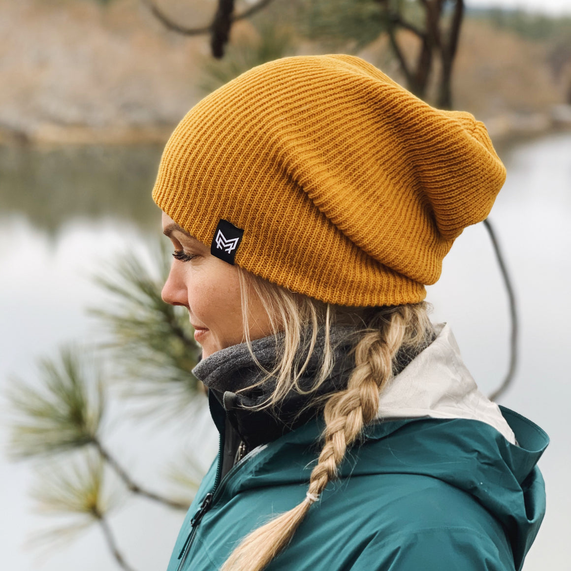 Mountain Method Snowqualmie Slouchy Beanie Wheat