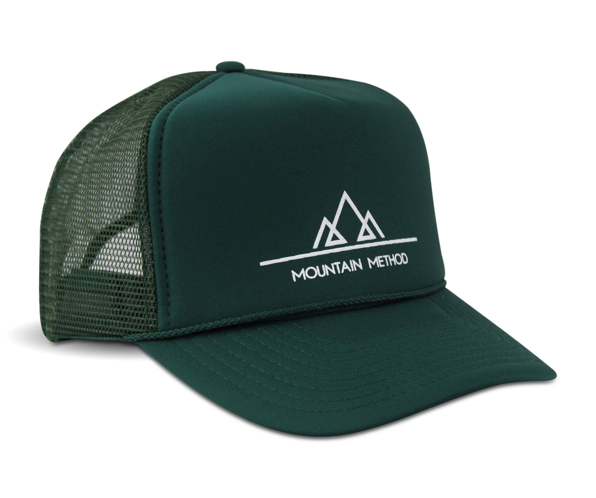 Matterhorn Trucker Hat - Green