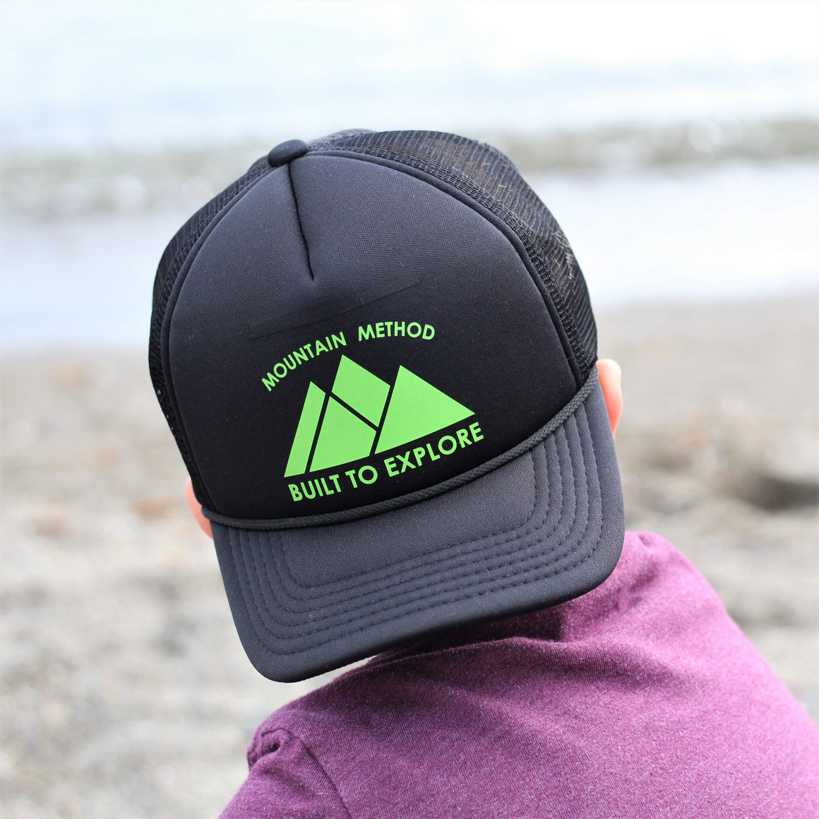 Mountain Explorer Youth Trucker - Blk