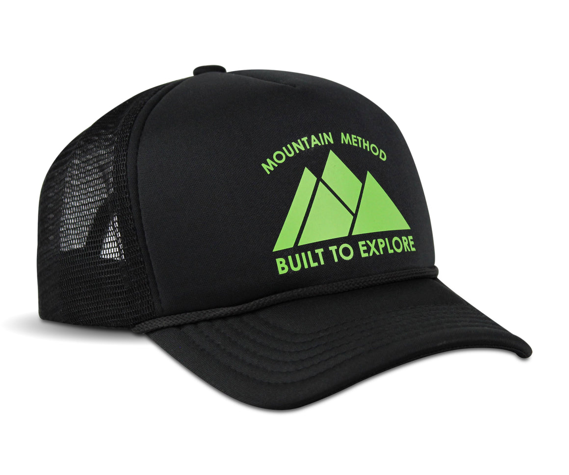 Vantage Trucker Hat - Black
