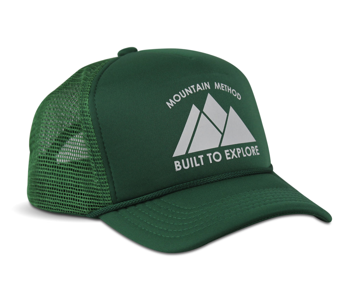 Vantage Trucker Hat - Green