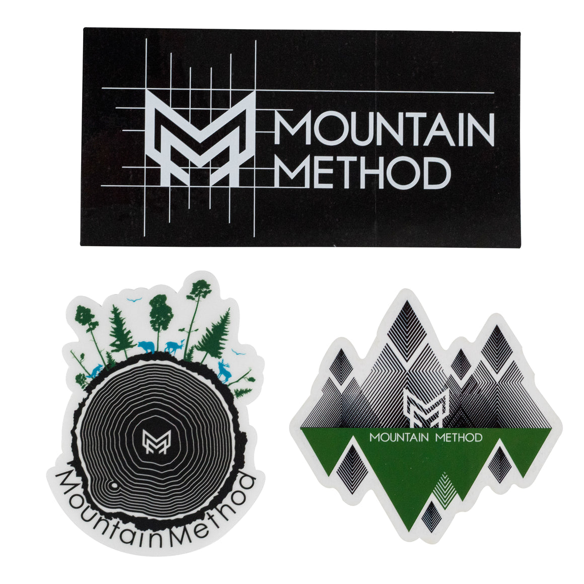 Mountain Sticker Pack | Mountain Method | Accessories