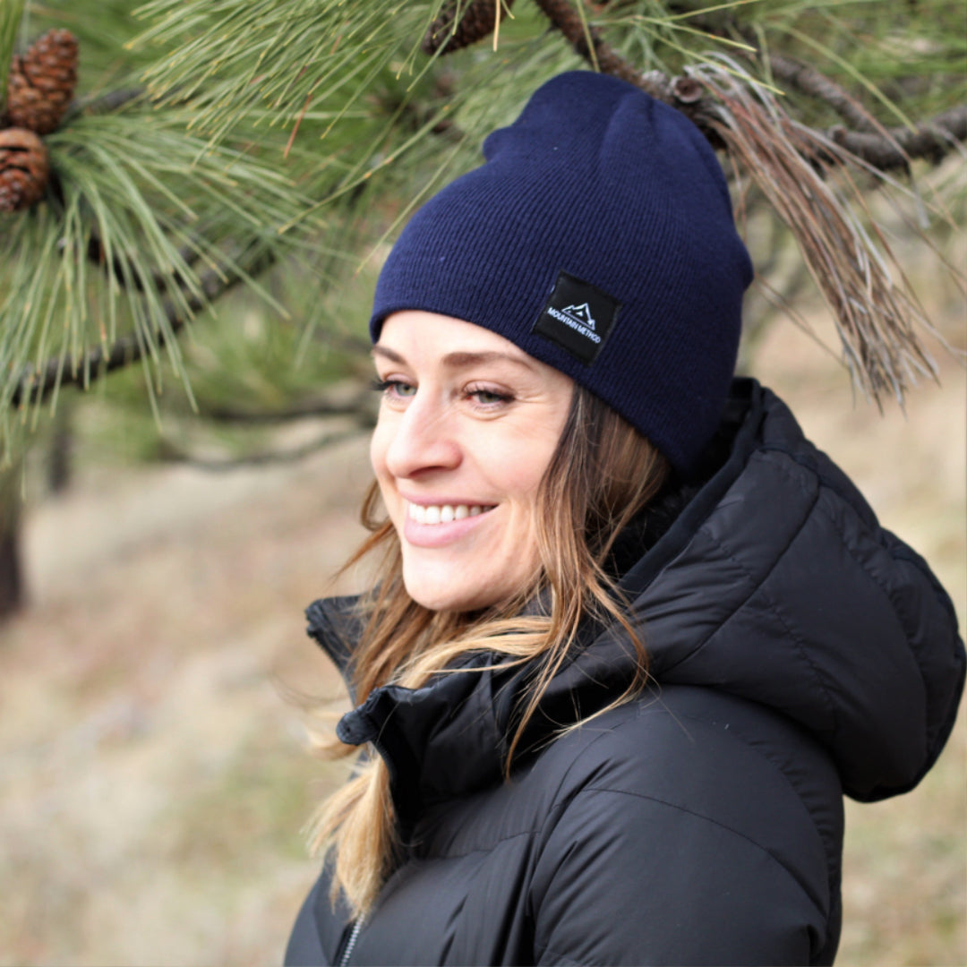 Riverside Beanie | Navy | Mountain Method