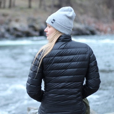 Rainier Beanie | Gray | Mountain Method