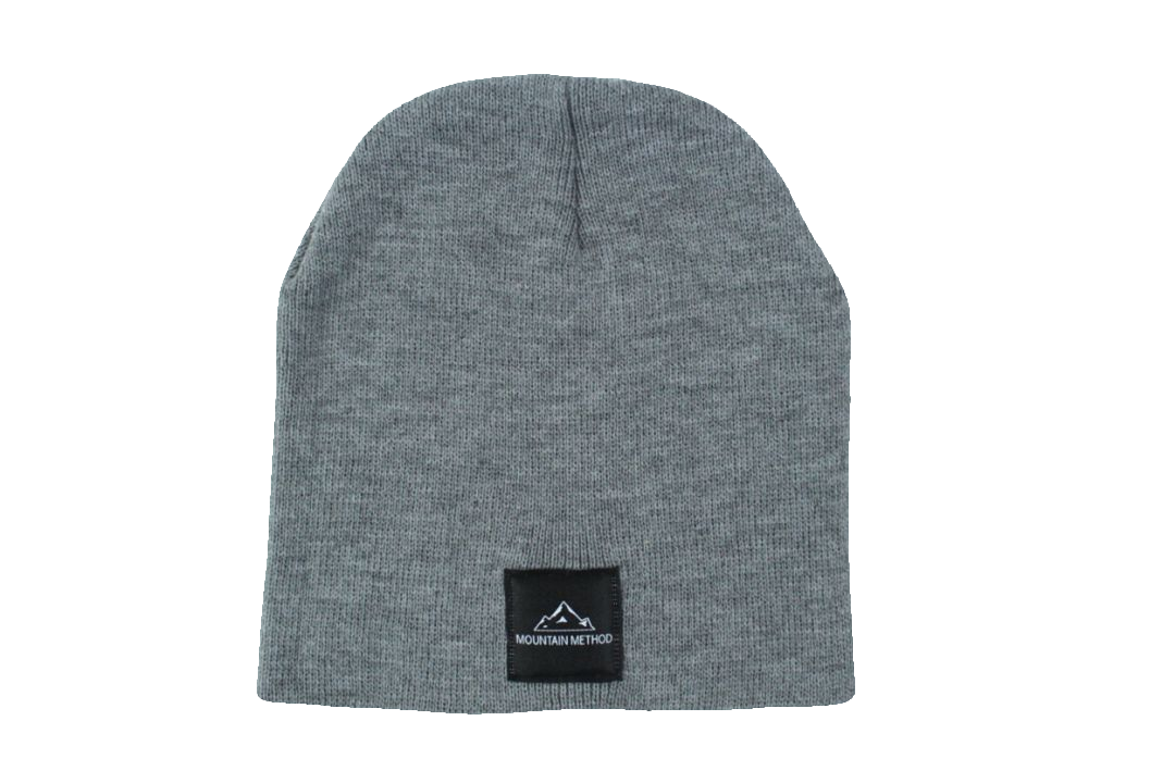 Riverside Beanie | Gray | Mountain Method