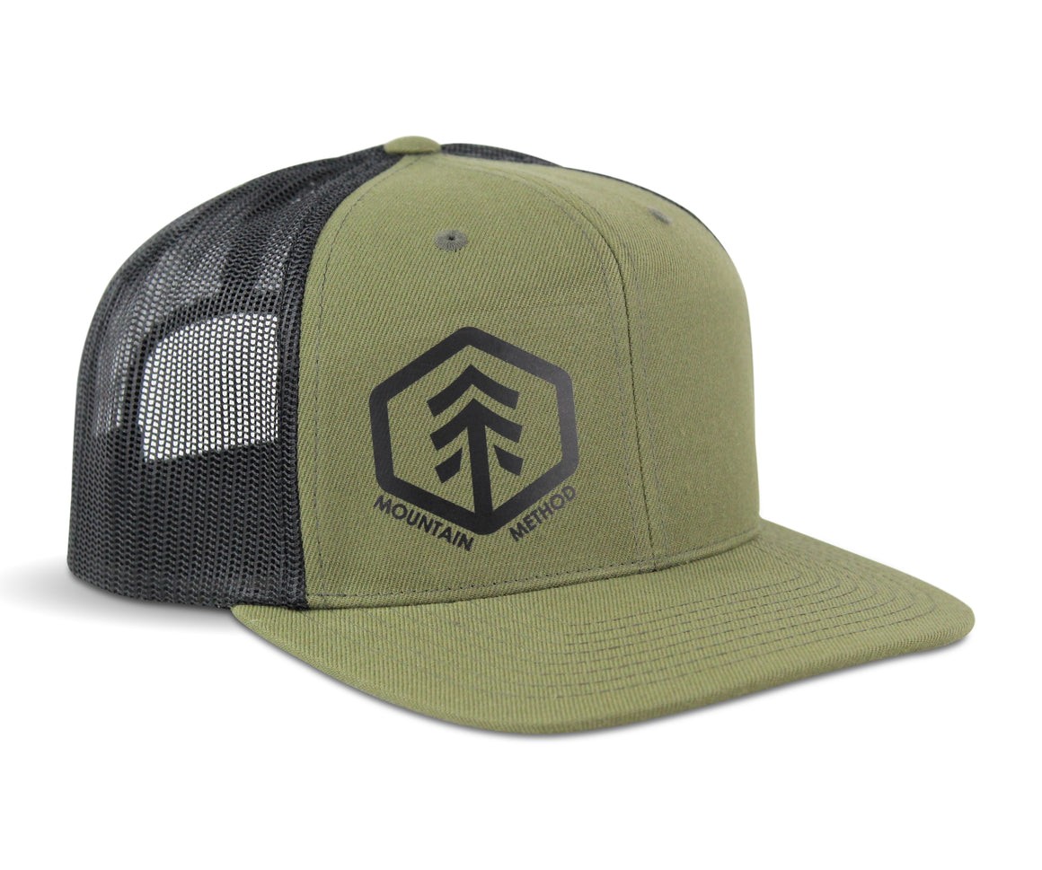 Vantage Trucker Hat | Loden Green