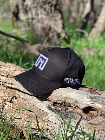 A Frame Hat Special Edition  - Black Hat with Side Logo