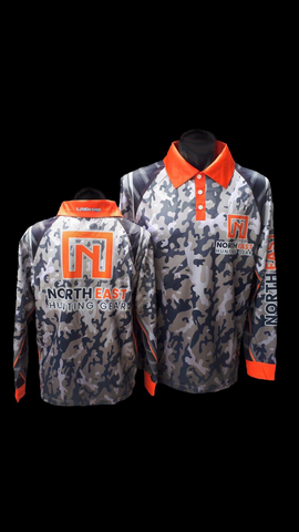 Premium NEHG Camo Design Hunting/Fishing Shirt