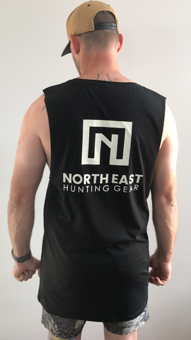 ADULTS UNISEX - BLACK PREMIUM TALL NEHG TANK
