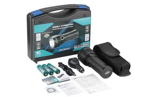 Olight SR52UT Intimidator XP-L HI 800m rechargeable kit