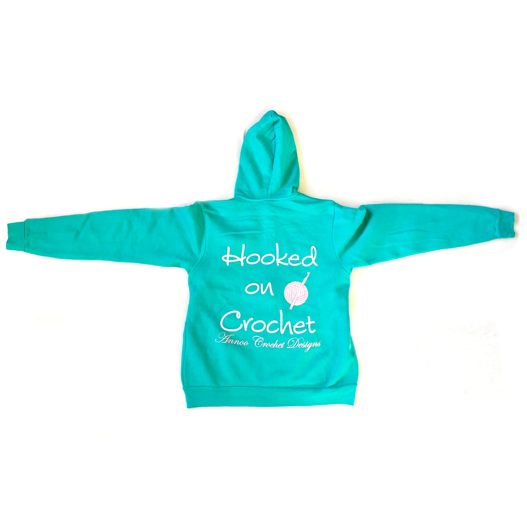 Annoo Crochet Hooked on Crochet Sweat-Shirt