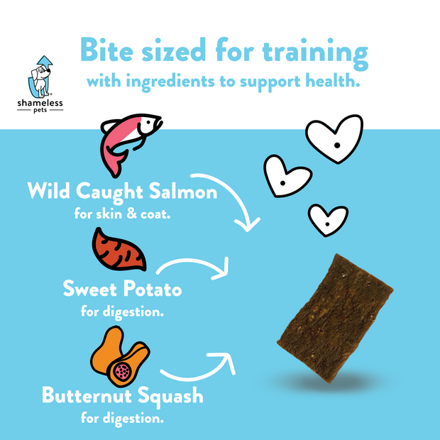 Salmon Loves Butternut Jerky Bites Subscription