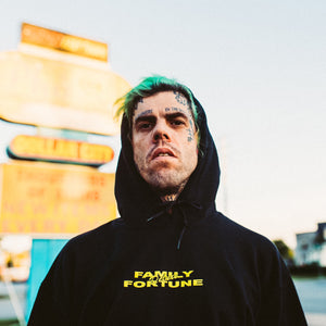 Family Fortune Deluxe Hoodie Yellow/Black